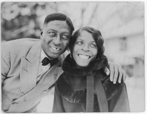 Huddie Ledbetter (Leadbelly) and Martha Promise Ledbetter, Wilton, Conn.