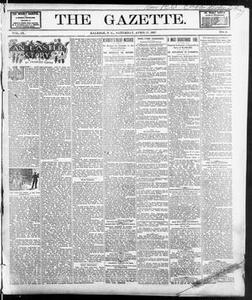 The Gazette. (Raleigh, N.C.), Vol. 9, No. 9, Ed. 1 Saturday, April 17, 1897 The Gazette The Weekly Gazette