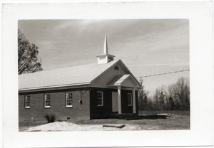 Antioch Church (Blue Mountain, Miss.) after reconstruction