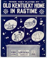 """When they played """"My old Kentucky home"""" in rag-time"""