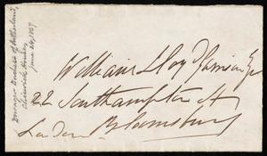 Letter from Harriet Elizabeth Georgiana Leveson-Gower, Duchess of Sutherland, Chiswick, [England], to William Lloyd Garrison, June 24th, [1867]