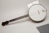 Banjo used by James Palao