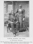 Thumbnail for Samuel Harper and wife, of Windsor, Ontario, the two survivors of the company of slaves abducted by John Brown from Missouri in the winter of 1858-1859