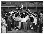 Christmas for kids...at American Legion Palomar Post #351, 1951