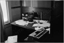 Desk of Boyd Lewis