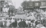 U.S.S. Constellation float in parade celebrating Baltimore's bicentennial anniversary, Baltimore, September 14, 1929