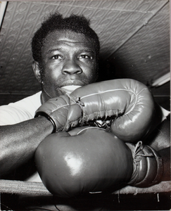Emile Griffith in ring
