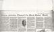 Newspaper Article, February 1, 1984