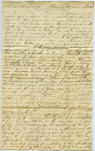 Letter from A. Pierce to Thomas Howland