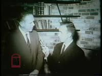 WSB-TV newsfilm clip of Orleans Parish School Board president Lloyd Rittiner speaking to a reporter about attempts to avoid compliance with court-ordered school desegregation in New Orleans, Louisiana, 1960 August