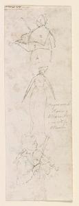Negro wench dancing, Maverly, in white muslin