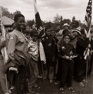 Awards Ceremony for Boy Scouts, Patterson Park, from the East Baltimore Documentary Survey Project