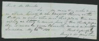 African American members records, circa 1850 (Wake Forest Baptist Church, Wake Forest, N.C.)