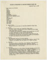Muscatine Federated Womens Club records and correspondence, 1969-1972