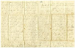 [Letter to Charles B. Moore, March 21, 1861] Charles B. Moore Family papers, 1832-1917