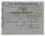 La Providencia Compañía General Cubana de Seguros Mútuos sobre la vida y valores de los esclavos