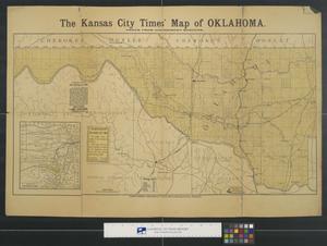 The Kansas City Times' map of Oklahoma