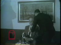 WSB-TV newsfilm clip of the chairman of the University System of Georgia Board of Regents Robert O. Arnold speaking to reporters about the recent integration of the University of Georgia from offices in Atlanta, Georgia, 1961 January