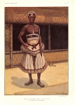 Kwete Peshanga Kena, chef actuel, en costume de cérémonie