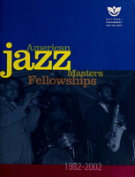 American Jazz Masters Fellowships, 1982-2002
