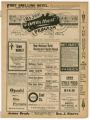 """High Class Vaudeville"" theater program, Bijou Opera House, Minneapolis, Minnesota"