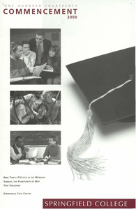Springfield College Commencement Program (2000)