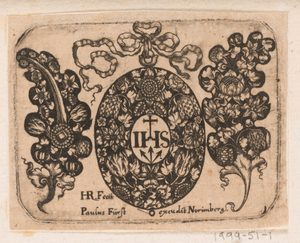 """""""Title Plate,"""" Plate 1 from """"Goldsmith Ornament Designs"""""""