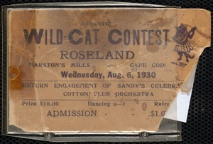 East of the Fuller farm was Roseland Ballroom, where Count Basie played and Ella Fitzgerald sang. Built in the mid-1920's, during Prohibition
