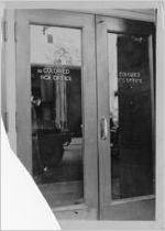 Segregated box office doors, Memphis, Tennessee