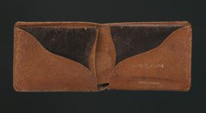 Wallet belonging to Harry T. Moore