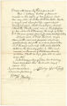 Bill of sale from Asbury Fisher to John H. B. Latrobe for Negro slave named Charlotte Clarke, dated April 13, 1859