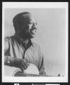 Portrait of musician Josh White, Los Angeles, ca. 1951-1960