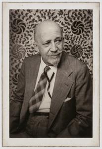 W.E.B. DuBois, from the portfolio 'O, Write My Name': American Portraits, Harlem Heroes
