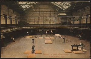 Interior of Yale Gymnasium, New Haven, Conn