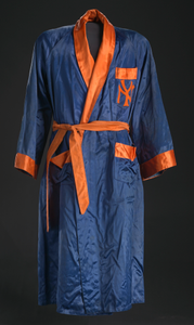 Robe worn by Floyd Patterson for World Heavyweight Title against Sonny Liston