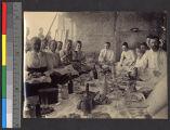 Missionary picnic supper, Shandong, China, 1898