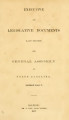 Executive and Legislative documents laid before the General Assembly of North-Carolina [1866; 1867]