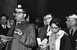 Richard L. Gunn, attorney for the United Freedom Movement (UFM) and Ruth Turner, executive secretary for Congress of Racial Equality (CORE)