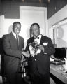 Louis Armstrong and Jake Armstrong