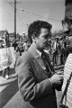 Julian Bond in Selma, Alabama, during the 20th anniversary commemoration of the Selma to Montgomery March.