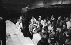 Martin Luther King, Hill Auditorium