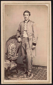 [Lieutenant Francis Raymond Rice of Co. A and Co. F, 1st Michigan Infantry Regiment in uniform]