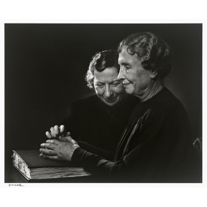 Helen Keller (with Polly Thomson)