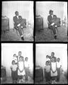 Set of negatives by Clinton Wright of Lawrence Daniels and family, 1965