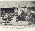 The former Alake of Abeokuta: A great Chief of the Egba people (Lagos Hinterland.)