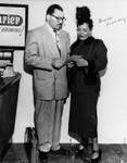 Walter Gordon, Jr. with Billie Holiday