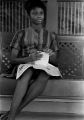 Shirley Martin, one of the first three African American students to attend Sidney Lanier High School in Montgomery, Alabama.