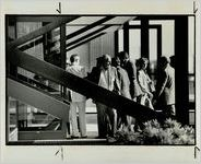 Conventioneers Entering Georgia World Congress Center, May 16, 1983
