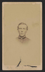 [First Sergeant William R. Holmes of Co. A, 36th Pennsylvania Infantry Regiment in uniform]