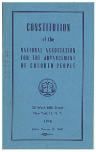 Constitution of the NAACP